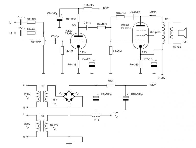 Ein Röhrenverstärker als Ersatz für aktive PC-Lautsprecher